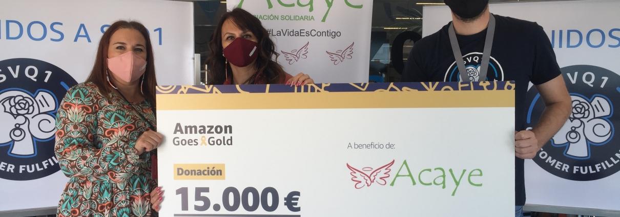 #AmazonGoesGold